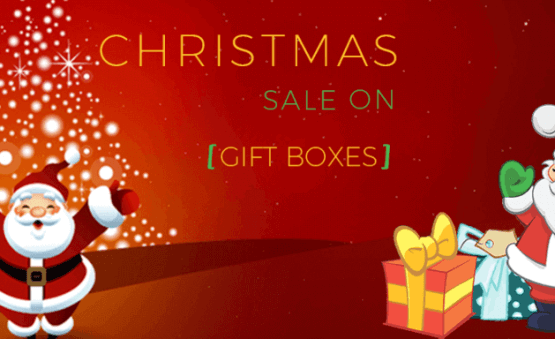 Christmas decoration with Custom Christmas Boxes